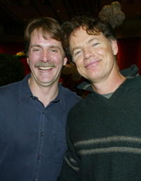 Bruce Greenwood and Jeff Foxworthy at the after party for the premiere of
