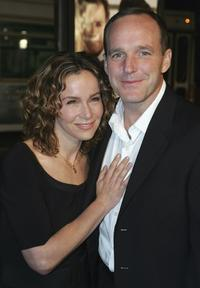 Jennifer Grey and Clark Gregg at the world premiere of