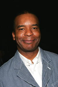 David Alan Grier at the Peter Som Fall 2006 fashion show during Olympus Fashion Week at Bryant Park.
