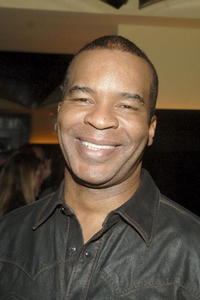 David Alan Grier at the Narciso Rodriguez fashion show after party at Del Posto during Olympus Fashion Week.