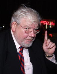 Richard Griffiths at the premiere of the