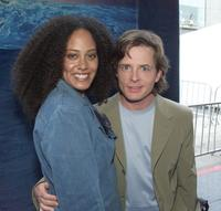 Cree Summer and Michael J. Fox at the world premiere of