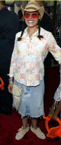 Cree Summer at the premiere of