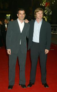 Ty Burrell and Jack Weber at the premiere of