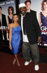 Taraji P. Henson and Kevin Brown at the New York premiere of