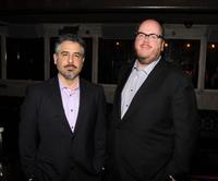 Glenn Ficarra and writer/director John Requa at the after party of the screening of