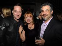 Brennan Brown, Annie Golden and Glenn Ficarra at the after party of the screening of