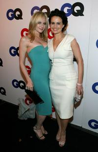 Carla Gugino and Marley Shelton at the GQ 2007 Men of the Year celebration.