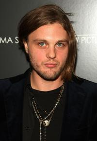 Michael Pitt at the Cinema Society and Mulberry screening of