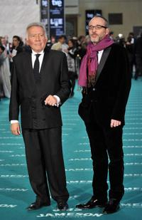 Fernando Guillen and Fernando Guillen Cuervo at the Goya Awards 2010.