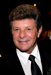 Frankie Avalon at the play opening night of