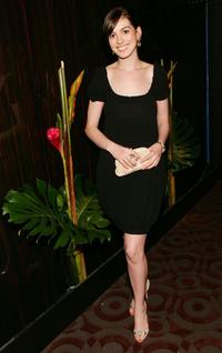 Anne Hathaway at the after party of the premiere of