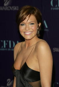 Actress Mandy Moore at the 2004 CFDA Fashion Awards in N.Y.
