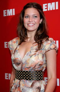 Actress Mandy Moore at the EMI/Capitol Records Grammy party in L.A.