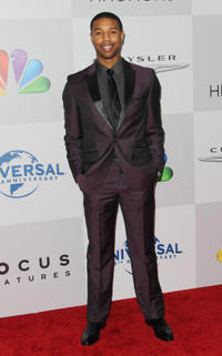 Michael B. Jordan at the NBC Universal's 69th Annual Golden Globe Awards after party in California.