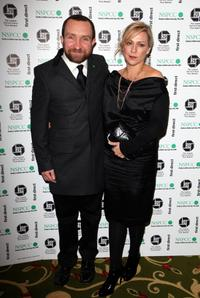 Eddie Marsan and Guest at the London Critics Circle Film Awards 2009.