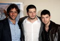 Adriano Giannini, Claudio Giovannesi and Emanuele Bosi at the photocall of