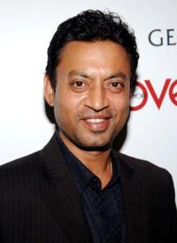 Irfan Khan at the party hosted by New York Moves Magazine for the cast of