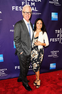 Brad Hall and Julia Louis-Dreyfus at the