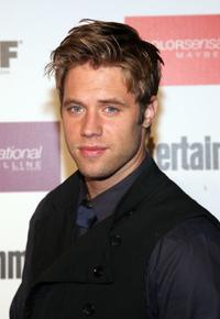 Shaun Sipos at the Entertainment Weekly And Women In Film's Pre-Emmy party.