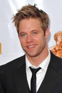 Shaun Sipos at the Closing Ceremony of the 2010 Monte Carlo Television Festival.