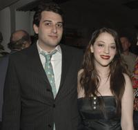 Kat Dennings and her brother Jeffery Dennings at the after party premiere of