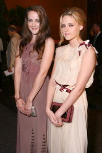 Jena Malone and Kristen Stewart at the Los Angeles premiere of