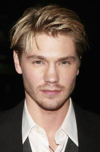 Chad Michael Murray at the world premiere of