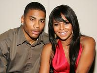 Nelly and Ashanti at the after party of the premiere of