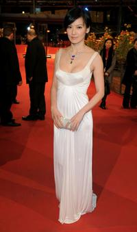Kelly Lin at the premiere of