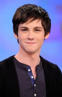 Logan Lerman at the BET's