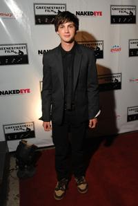Logan Lerman at the after party of the premiere of