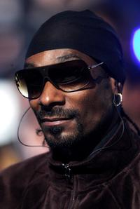 Snoop Dogg at the MTV Europe Music Awards 2007.