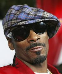 Snoop Dogg at the premiere of
