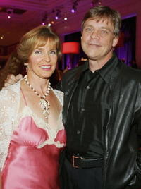 Mark Hamill and and his wife Marilou Hamill at the after party for the premiere of the