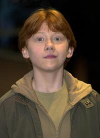 Rupert Grint at the world premiere of
