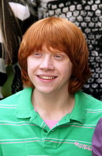 Actor Rupert Grint at a London photocall for