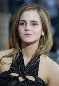 Emma Watson at the New York premiere of