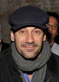 Jon Hamm at the Rag & Bone Fall 2011 fashion show during the Mercedes-Benz Fashion Week.