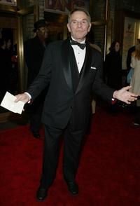 Ted Hartley at the opening night of the Broadway musical