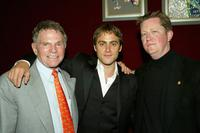 Ted Hartley, Stuart Townsend and Damian Nieman at the after party of