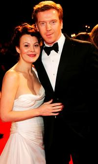 Helen McCrory and Damian Lewis at the Orange British Academy Film Awards (BAFTAs).
