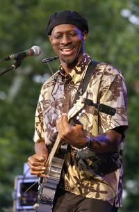 Keb Mo at the Summerstage.