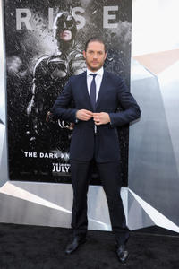 Tom Hardy at the New York premiere of