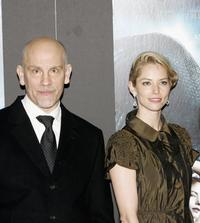 John Malkovich and Sienna Guillory at the world premiere of