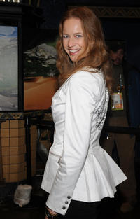 Laura Cayouette at the premiere of