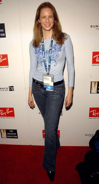 Laura Cayouette at the Ray Ban Visionary Awards Honoring Quentin Tarantino during the Sundance Film Festival.