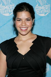 America Ferrera at the Comedy Central Emmy Party in Hollywood, California.