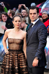 Amy Adams and Henry Cavill at the