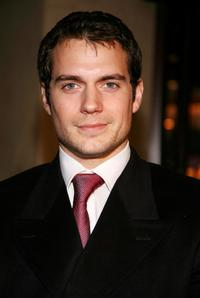 Henry Cavill at the premiere of